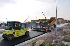 Asphalt - Road Works in the district of Korfez