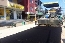 Asphalt Surface Dressing Work
